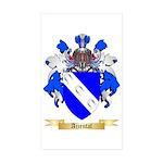Ajzental Sticker (Rectangle 10 pk)