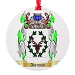 Akerman Round Ornament