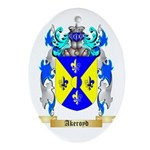 Akeroyd Ornament (Oval)
