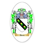Akers Sticker (Oval 10 pk)