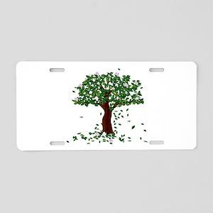 MAGNOLIA TREE Aluminum License Plate