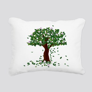 MAGNOLIA TREE Rectangular Canvas Pillow