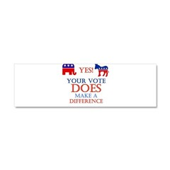 Your Vote Counts Car Magnet 10 x 3