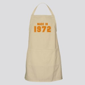 Made in 1972 Apron