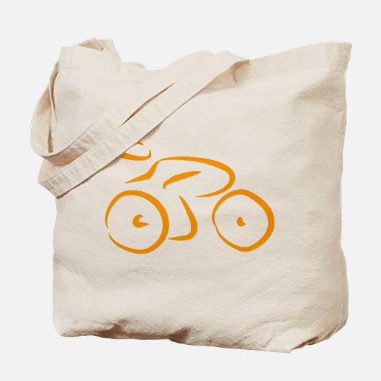 bike logo Tote Bag