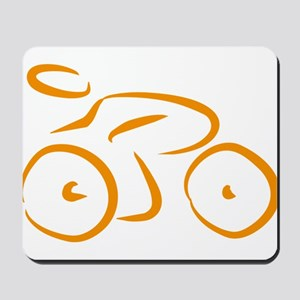 bike logo Mousepad