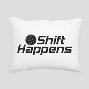 Shift Happens Rectangular Canvas Pillow
