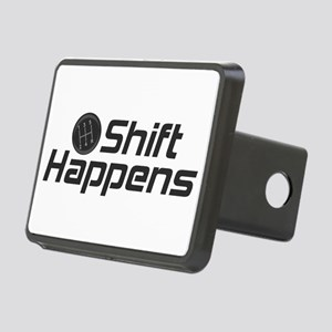 Shift Happens Rectangular Hitch Cover