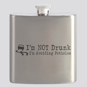Drunk Potholes Flask