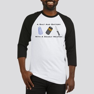 A Salt And Battery With A Dea Baseball Jersey