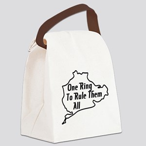 Nurburgring Canvas Lunch Bag
