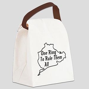 Nurburgring Canvas Lunch Bag
