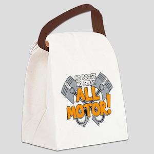 AllMotorDesign2 Canvas Lunch Bag
