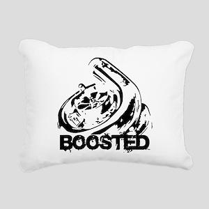 Boosted Rectangular Canvas Pillow