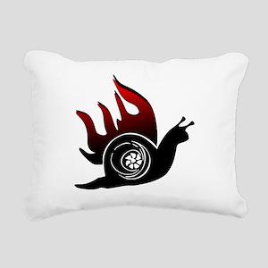 Boost Snail Rectangular Canvas Pillow
