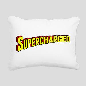 Supercharged Rectangular Canvas Pillow