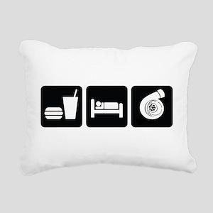 Eat Sleep Boost Rectangular Canvas Pillow