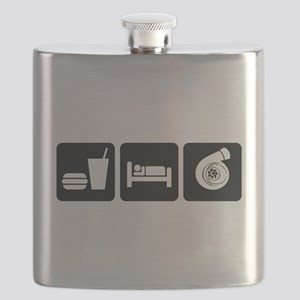 Eat Sleep Boost Flask