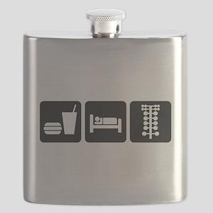 Eat Sleep Drag Flask