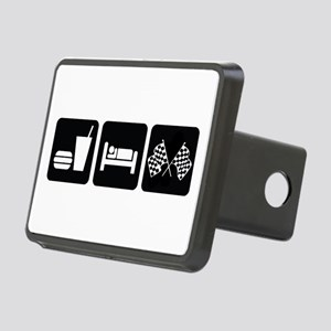 Eat Sleep Race Rectangular Hitch Cover