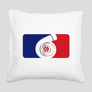 Major League Boost Square Canvas Pillow