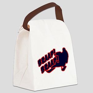 Braap Braap Canvas Lunch Bag