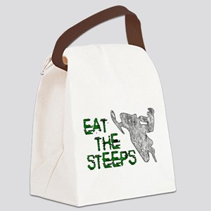 Eat The Steeps Canvas Lunch Bag