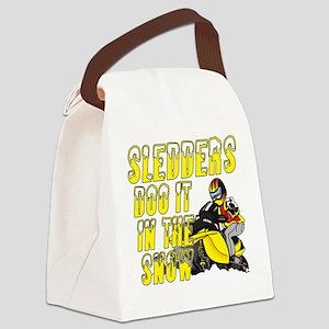 Sledders Doo Canvas Lunch Bag