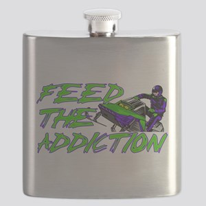 Feed The Addiction Flask