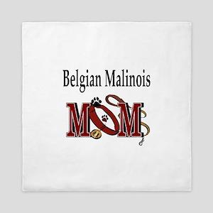 Belgian Malinois Mom Queen Duvet