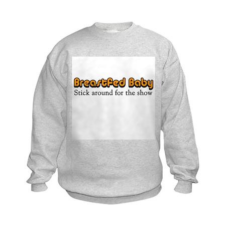 Breastfed Baby Kids Sweatshirt