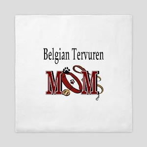 Belgian Tervuren Mom Queen Duvet