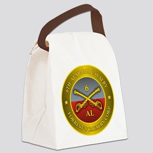 6th Alabama Cavalry Canvas Lunch Bag