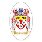 Aland Sticker (Oval 50 pk)