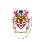 Aland 35x21 Oval Wall Decal