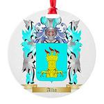 Alba Round Ornament