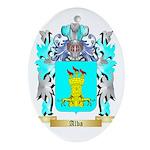 Alba Ornament (Oval)