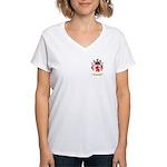Albason Women's V-Neck T-Shirt