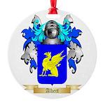 Albert Round Ornament