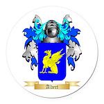 Albert Round Car Magnet
