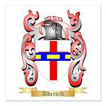 Albertelli Square Car Magnet 3