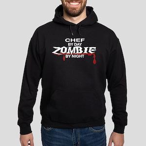 Chef Zombie Hoodie (dark)