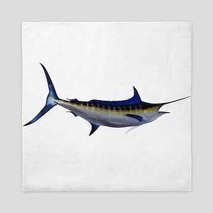 Blue Marlin Fish Queen Duvet
