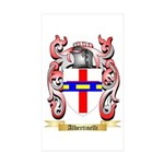 Albertinelli Sticker (Rectangle 50 pk)