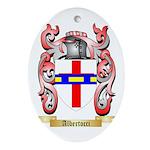 Albertocci Ornament (Oval)
