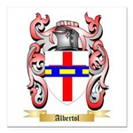 Albertol Square Car Magnet 3