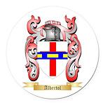 Albertol Round Car Magnet