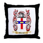 Albertol Throw Pillow