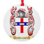 Albertos Round Ornament