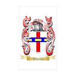 Albertos Sticker (Rectangle 50 pk)